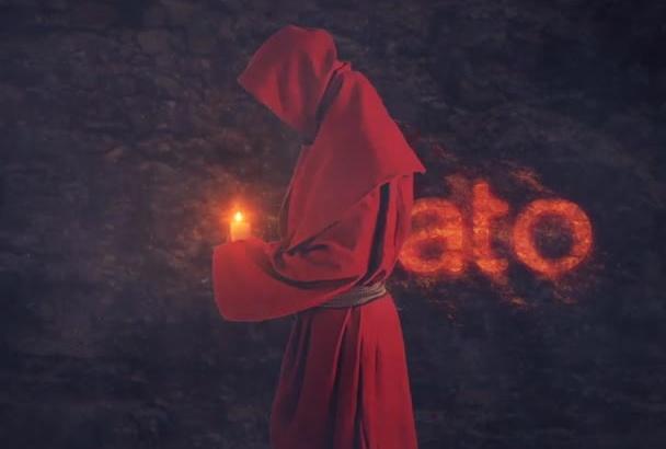 do Monk Revealing Logo Intro
