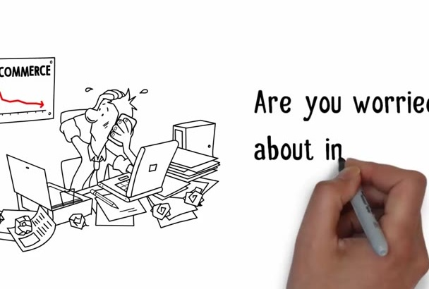 create an Attractive Whiteboard Animation
