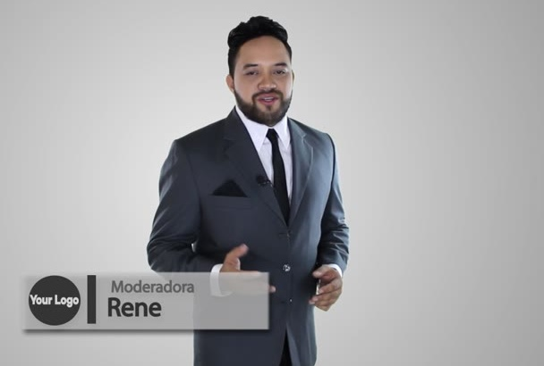 be your professional spokesperson in spanish