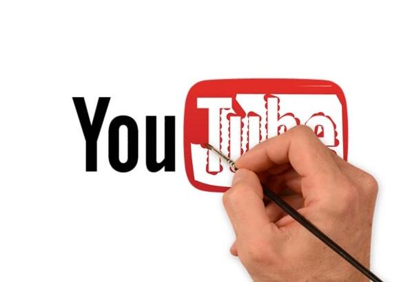 create LOGO speed drawing video advertising