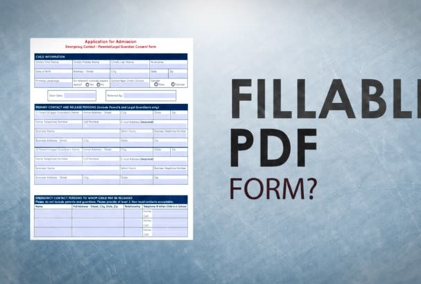 create a Fillable PDF form for 1 Page in Acrobat Pro, Livecycle or InDesign