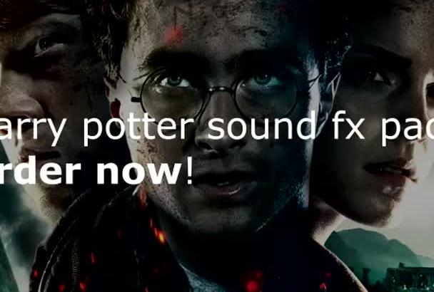 send you harry potter sound fx pack