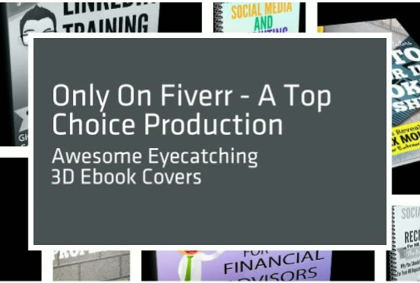 create An Eye Catching, Sales Generating 3D eBook Cover