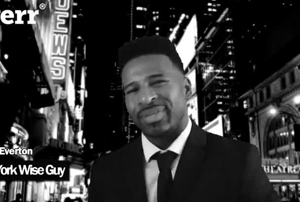 do a commercial or video testimonial as a New York Wise Guy