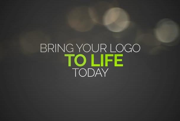 producir una intro profesional y creativa para tu logo