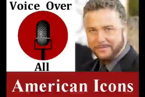 voice over Famous Americans Professional voiceover
