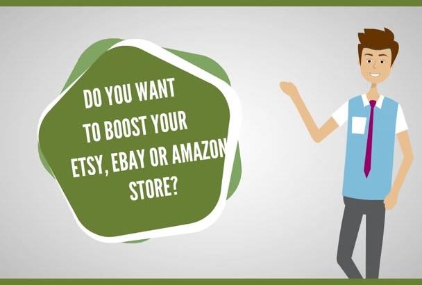 promote your etsy ebay and amazon shop through social media