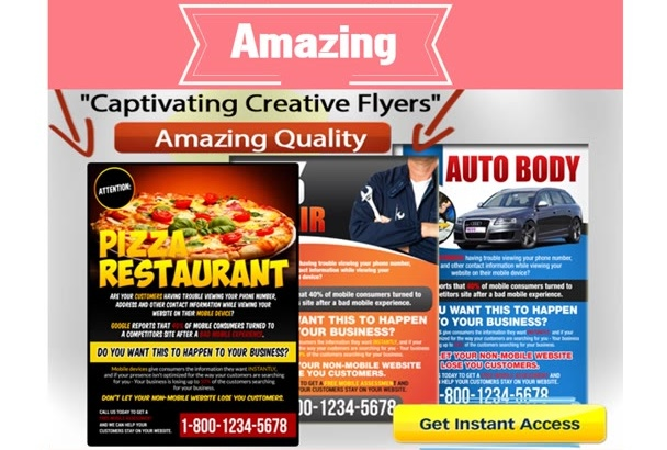 design a DISTINCTIVE Corporate Flyer and Poster for you