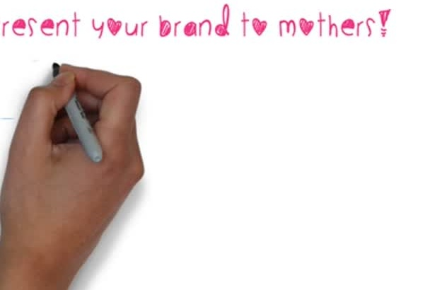 tweet about your product, website, blog to mothers