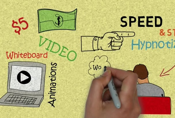 do Custom Whiteboard Animation with VoiceOver in 24 hrs