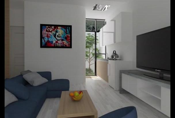 make 2D,3D floor plan by sketchup fastest