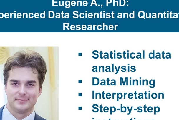 do data analysis in R, SPSS, Stata, EViews and Statistica