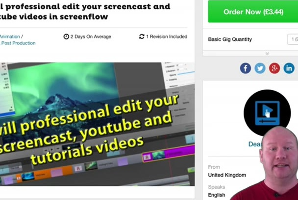 professional edit your screencast and youtube videos in screenflow