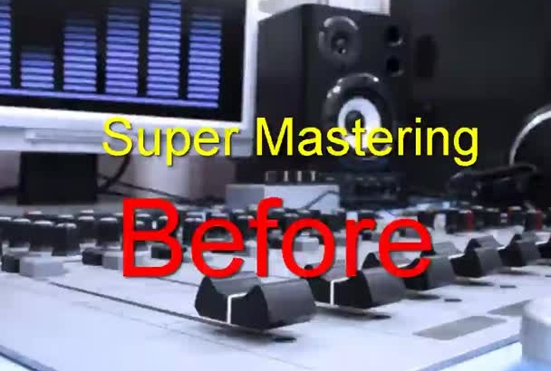 master a song or audio track and make it ready for professional commercial High quality guaranteed