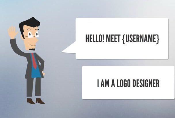 create this animation video for your logo design gig