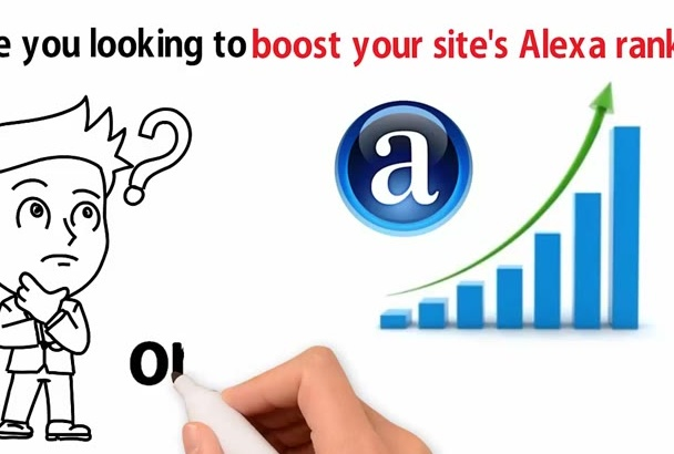 boost Alexa Rank for USA Region Below Top 99000