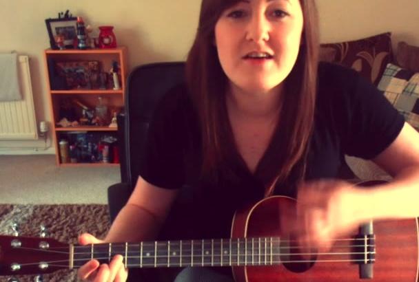 record a super simple ukulele STINGER