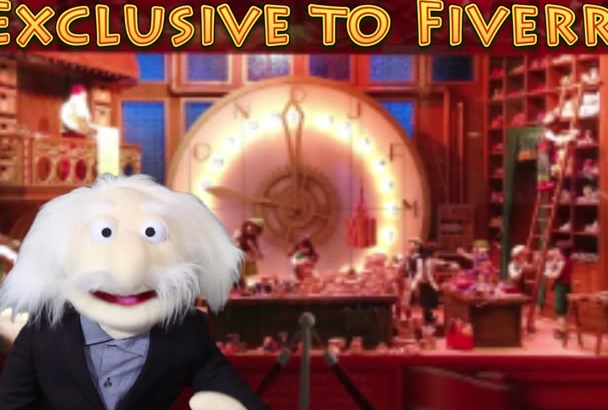 deliver a Christmas puppet elf message to your child