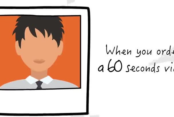 create 30 second Explainer Video animation