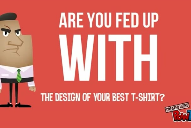 design trendy and professional tshirt for teespring