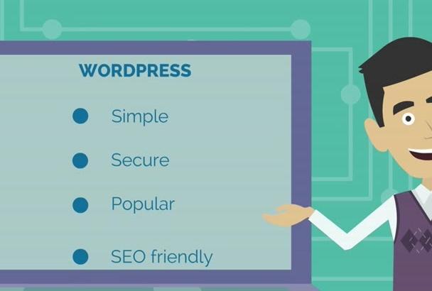 create, fix, customize your wordpress website