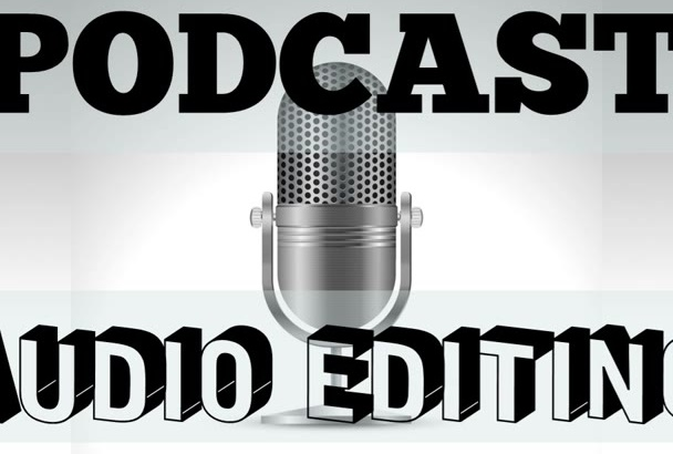 edit your podcast AUDIO