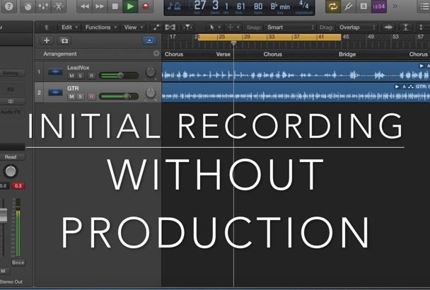 produce your original song
