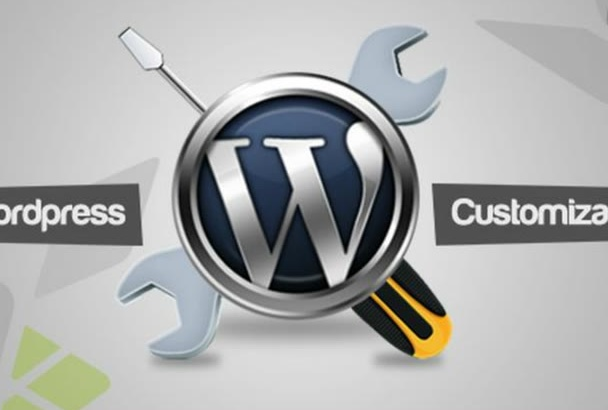 install customize fix build wordpress or any website