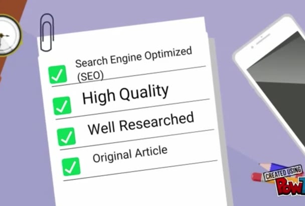 write Innovative and Eye Catching SEO Articles