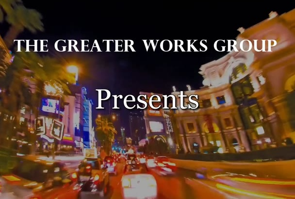 create an awesome promotional music video time lapse theme