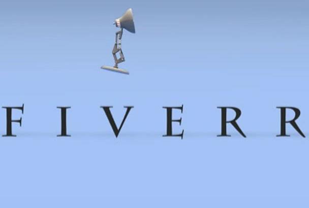 create a custom Pixar intro video