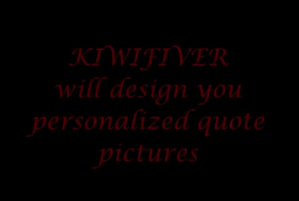 create awesome quote pictures promoting your website