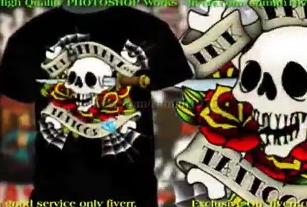 create a trendy tshirt