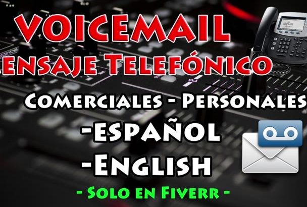record a professional voicemail IVR greeting phone message
