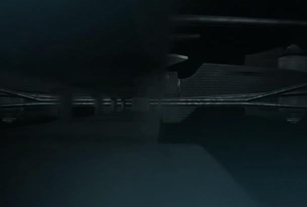 do amazing Arrow logo reveal animation