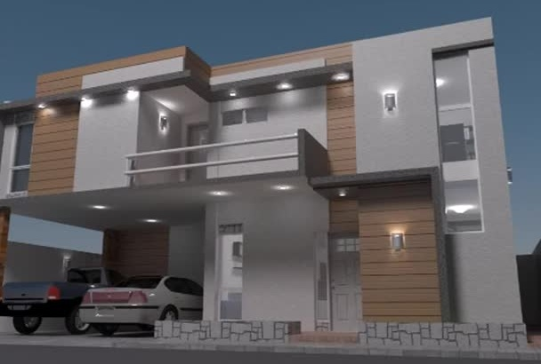 create your floorplan or a 3D object whit render