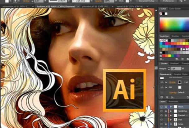 do Adobe Illustrator work