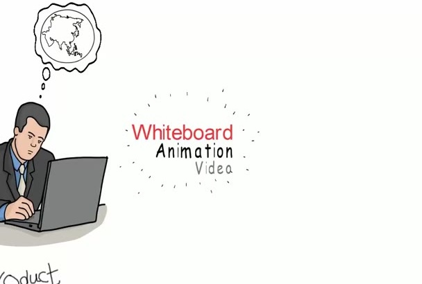 create an Engaging WHITEBOARD animation video within 24hours