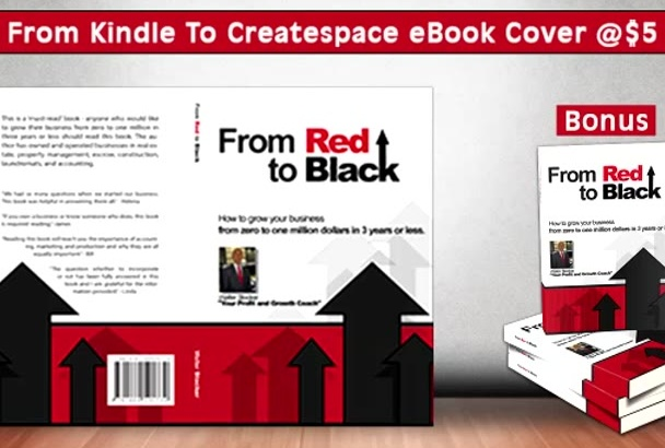 design Back and Spine For Your Kindle eBook Cover