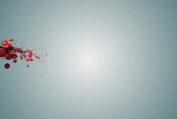 produce this bubbly logo intro