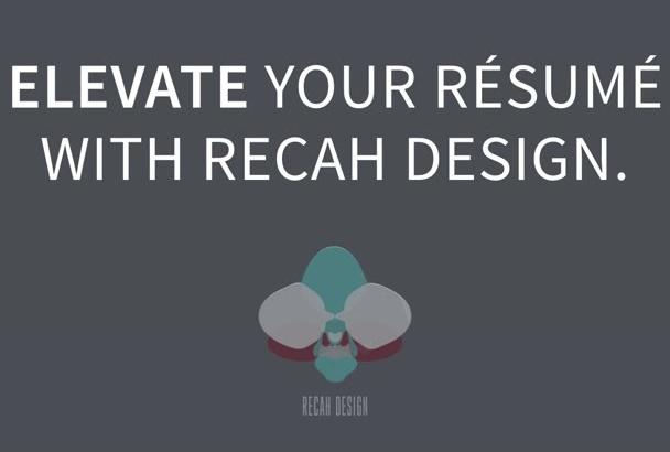 format and quantify your résumé
