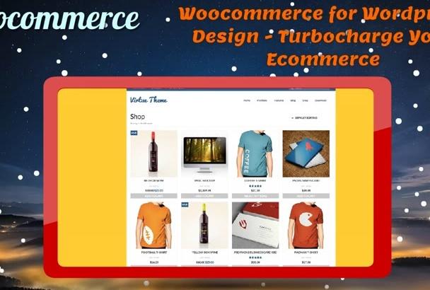 design Woocommerce and Wordpress with Customization Plugins