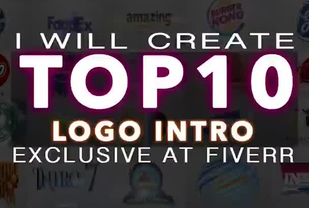 create TOP 10 Amazingly Popular Video Intros