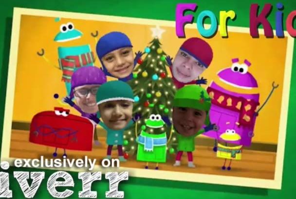 make a wonderful Christmas video for you kids