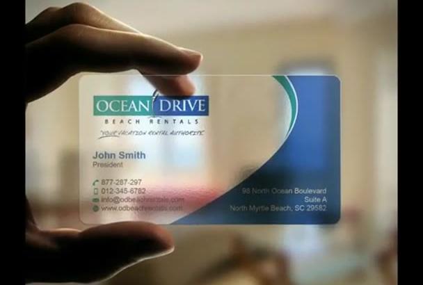 create unique business card