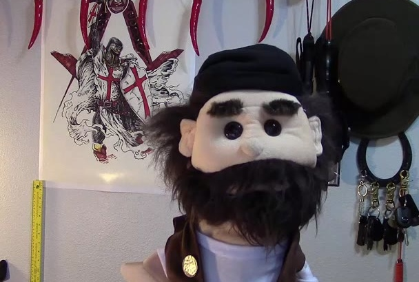 do a video for you using my Puppet Burl