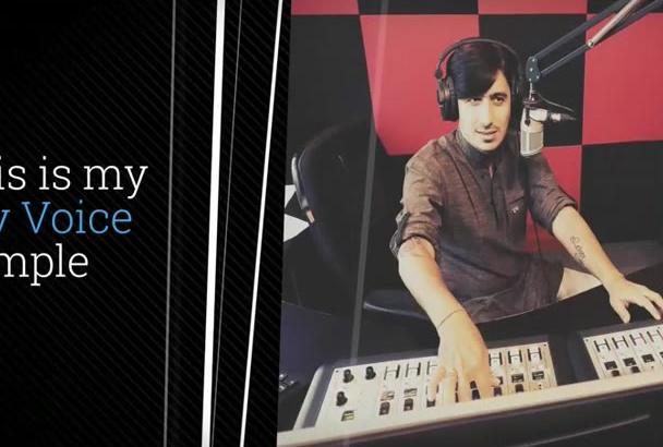 record Studio Quality Hindi Voice Over