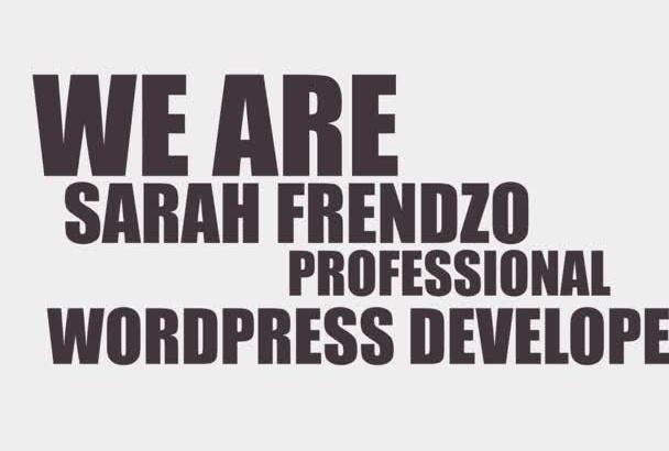 do ANY WordPress Work