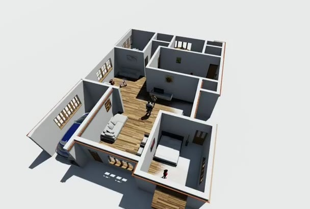 develop 3D model of your building with jpeg, video