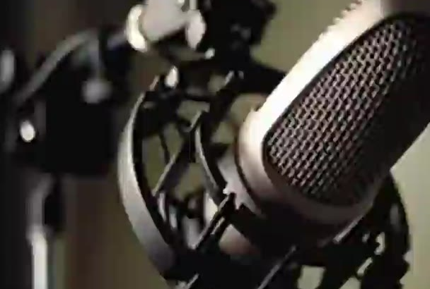 make an American voiceover